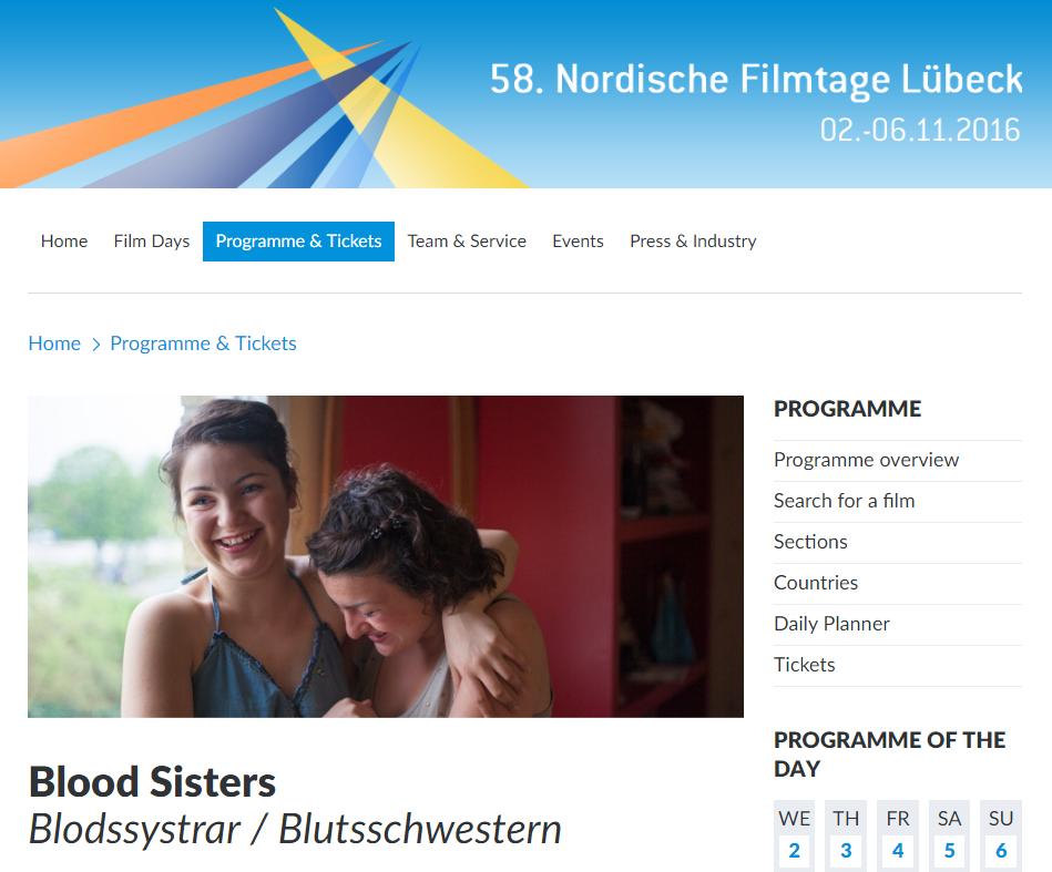 Nordische Lübeck Filmtage